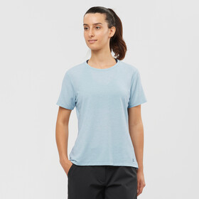 Salomon Sight Classic SS Tee Women, ashley blue